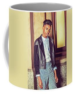 Coffee Mug featuring the photograph Portrait Of School Boy 15042627 by Alexander Image
