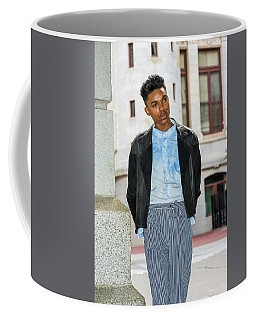 Coffee Mug featuring the photograph Portrait Of School Boy 15042637 by Alexander Image