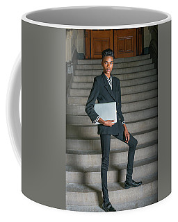 Coffee Mug featuring the photograph Portrait Of School Boy 1504264 by Alexander Image