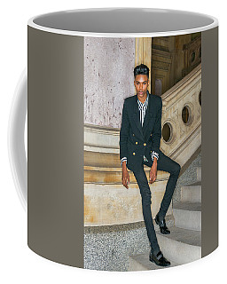 Coffee Mug featuring the photograph Portrait Of School Boy 1504265 by Alexander Image