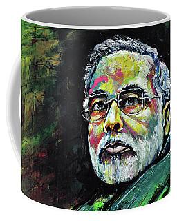 Portrait Of Shri Narendra Modi Coffee Mug