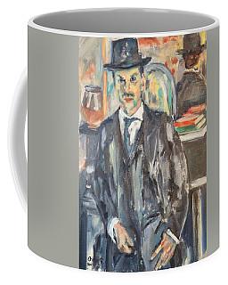 Portrait Of Simon Coffee Mug
