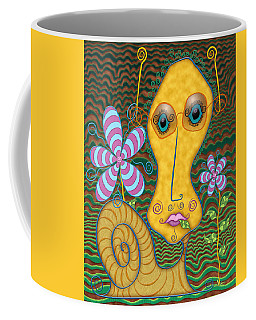 Portrait Of The Artist As A Young Snail Coffee Mug