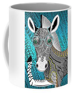 Portrait Of The Artist As A Young Zebra Coffee Mug