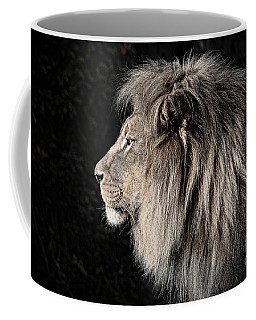 Portrait Of The King Of The Jungle II Coffee Mug