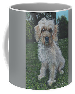 Portrait Of Toffee Coffee Mug