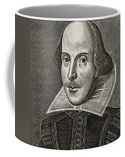 Portrait Of William Shakespeare Coffee Mug