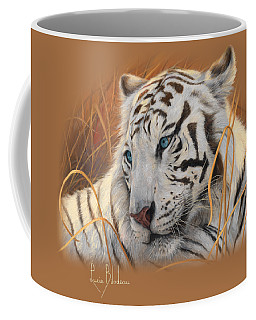 Portrait White Tiger 1 Coffee Mug
