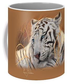 Portrait White Tiger 1 Coffee Mug