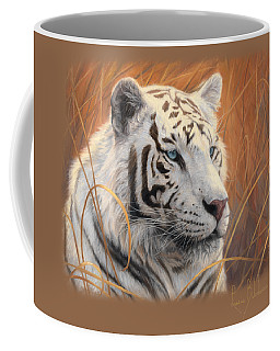 Portrait White Tiger 2 Coffee Mug
