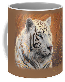 Portrait White Tiger 2 Coffee Mug