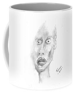Portrait With Mechanical Pencil Coffee Mug by Dan Twyman