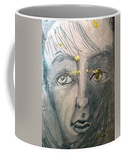Portrait With Yellow Coffee Mug