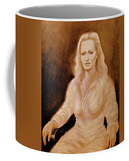 Portrait Woman In Bright Dress Coffee Mug