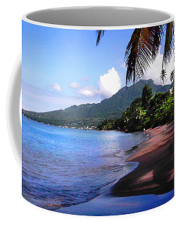 Portsmouth Shore On Dominica Filtered Coffee Mug