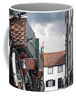 Coffee Mug featuring the photograph Portugal Place Cambridge by Gill Billington