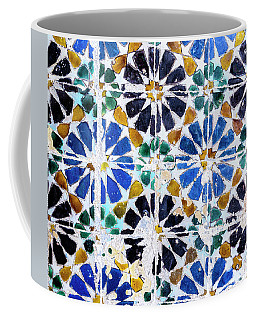 Portuguese Tiles Coffee Mug by Marion McCristall