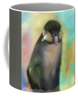 Posed Spider Monkey Coffee Mug