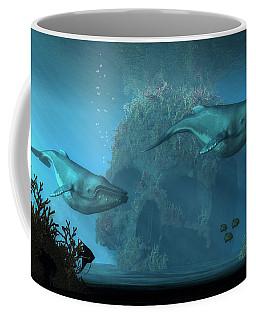 Poseidon's Grave Coffee Mug by Daniel Eskridge