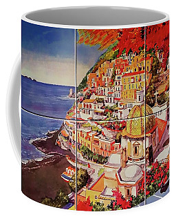 Positano Street Art Coffee Mug