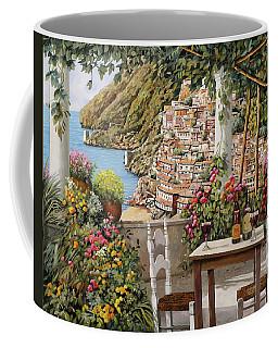 Positano Dalla Terrazza Coffee Mug