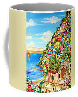 Positano Dreamy Sunset Coffee Mug