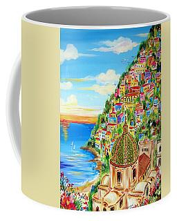 Positano Dreamy Sunset Coffee Mug
