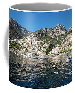 Positano From The Bay Coffee Mug