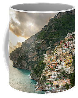 Positano Sunset Coffee Mug