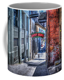 Post Alley Straggler Coffee Mug by Spencer McDonald