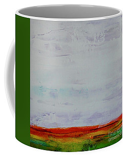 Coffee Mug featuring the painting Post Apocalypse by Kim Nelson