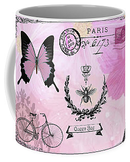 Post Card Paris Coffee Mug