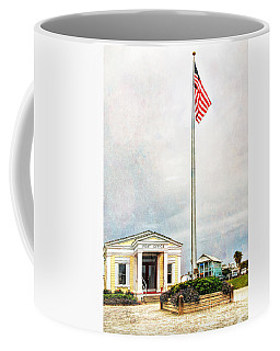 Post Office In Seaside Florida Coffee Mug