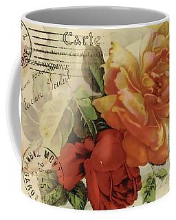 Coffee Mug featuring the digital art Postal by Kim Kent
