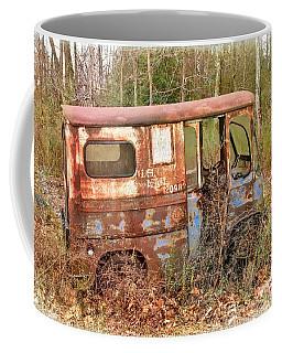 Postal Service Truck Coffee Mug by Debbie Green