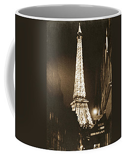 Postcard From Paris- Art By Linda Woods Coffee Mug