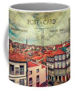 postcard of Porto Coffee Mug