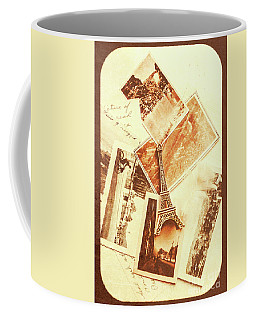 Postcards And Letters From The City Of Love Coffee Mug