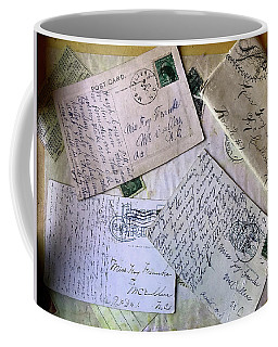 Postcards And Proposals Coffee Mug