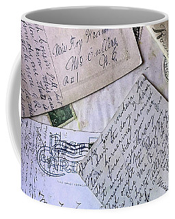 Postcards And Proposals Coffee Mug