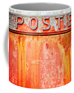 Poste Italian Weathered Mailbox Coffee Mug