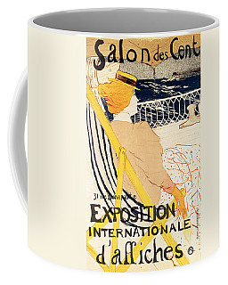 Poster Advertising The Exposition Internationale Daffiches Paris Coffee Mug