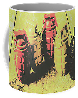 Coffee Mug featuring the photograph Posterized Granade Art by Jorgo Photography - Wall Art Gallery