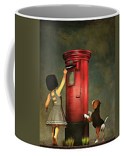 Posting A Letter Together Coffee Mug