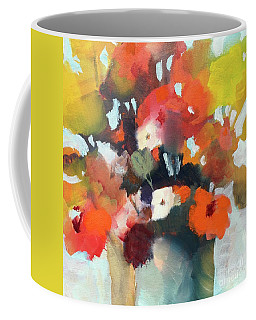 Pot Of Flowers Coffee Mug by Michelle Abrams