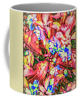 Coffee Mug featuring the digital art Pot Pourri by Eleni Mac Synodinos
