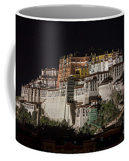 Potala Palace At Night Coffee Mug