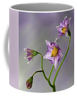 Potato Flowers Coffee Mug