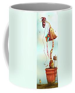 Trolls And Ladders.  Coffee Mug