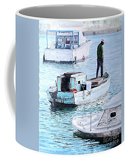 Potter's Cay Blues Coffee Mug